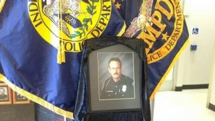 Indy Prepares To Lay Officer Renn To Rest