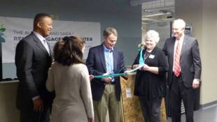 Ribbon Cutting For City's Homeless Detox Center