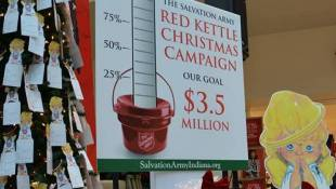 Salvation Army Kicks Off Red Kettle Christmas Campaign