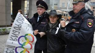Gays In U.S. Olympic Delegation Will Send Message To Russia