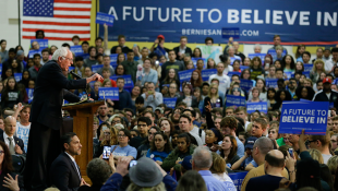 Sanders Vows To Stay In Race Despite Tuesday's Big Losses