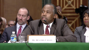 Carson Addresses East Chicago Lead Contamination At HUD Hearing