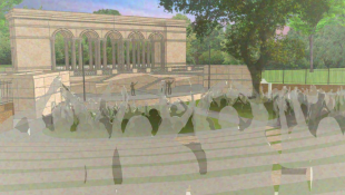Officials Hope Monument, Amphitheater Will Improve Indy Park