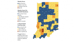 Indiana Overhauls County Virus Ratings For School Decisions