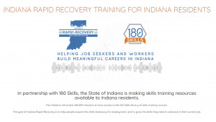Indiana Offering Free Online Skills Courses For Job Recovery Plan