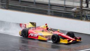 Sebastian Saavedra Takes Pole Position For First Grand Prix Of Indianapolis