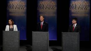 The Negative Ad War For Indiana's Open U.S. Senate Seat