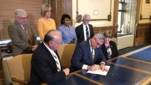 Harassment Training For State Workers, Holcomb Signs Bill For Lawmakers