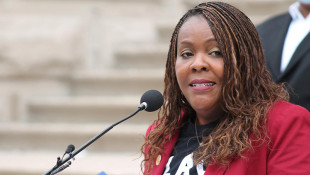 Indiana Black Legislative Caucus Chair Rep. Robin Shackleford (D-Indianapolis) said she wants to see more action from Gov. Eric Holcomb on justice reform. - Lauren Chapman/IPB News