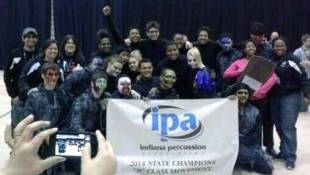 Shortridge Wins State Indoor Percussion Title