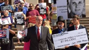 Protest Across Indiana Advocate For Raising The Minimum Wage