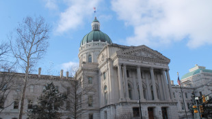 The Indiana Statehouse. - Lauren Chapman/IPB News