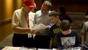 World War II Veterans Gather At State Museum On 75th Anniversary Of  Pearl Harbor