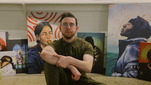 Local Artist Uses Digital And Traditional Media In Work For NFL Team
