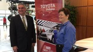 Toyota To Invest $600M, Add 400 jobs At Indiana Plant