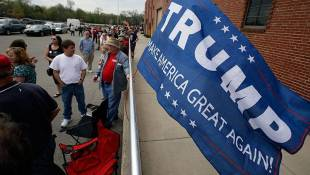 Trump Brings Campaign To Indiana