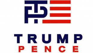 #MemeOfTheWeek: The New Trump/Pence Logo That's Doing ... Something