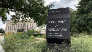 The U.S. Department of Agriculture is being sued by the United Food and Commercial Workers International Union and local unions representing 10 plants in Alabama, Arkansas, Indiana, Kentucky, Mississippi and Missouri. - FILE PHOTO: Doug Jaggers/WFYI