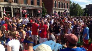 USMNT Loses, Indy Party Wins