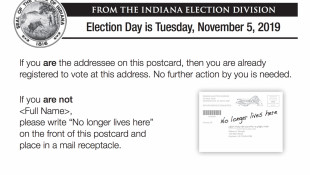 Another Voter Roll Cleanup Underway In Indiana