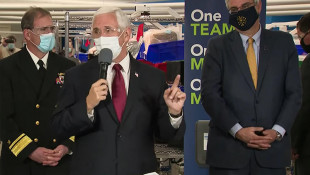 Pence Visits Kokomo GM Plant, Applauds 'Inspiring' Effort To Make Ventilators