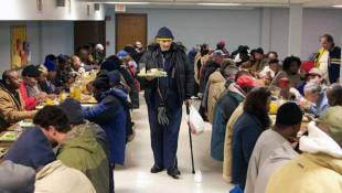 Temperatures And Season Mean Busy Times For Indy Homeless Shelters