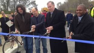 Two Mile White River Greenway Extension Opens