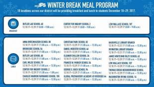 IPS Offers Students Free Meals During Winter Break
