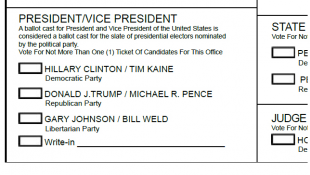 Could A Write-In Vote For Pence Still Count For The Trump Ticket?