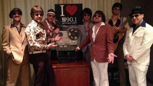 Yacht Rock Revue Visits The 90.1 Studio