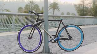 Coming Soon To A Pole Near You: A Bike That Locks Itself