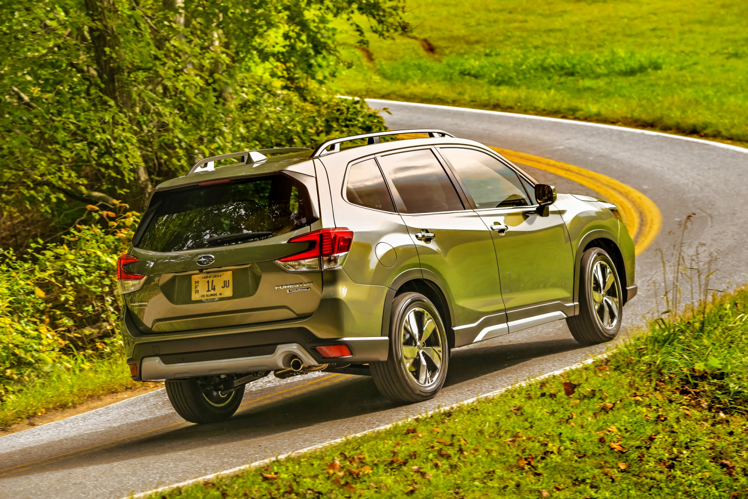 2019 Subaru Forester Takes Us Touring