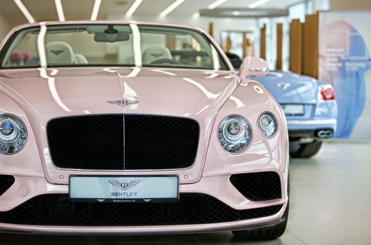 Bentley Wears Pantone S Favorite Colors