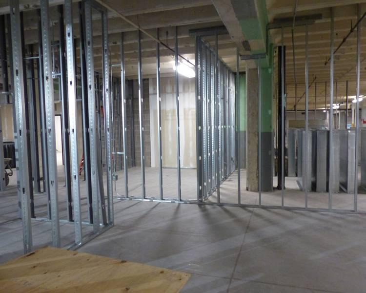 Reuben Engagement Center Construction Underway