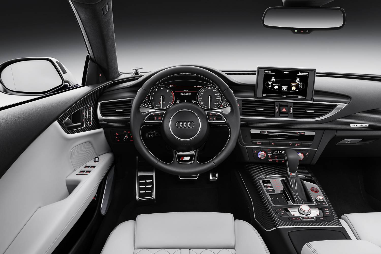 Audi A6 2015 Interior Night The Audi Car