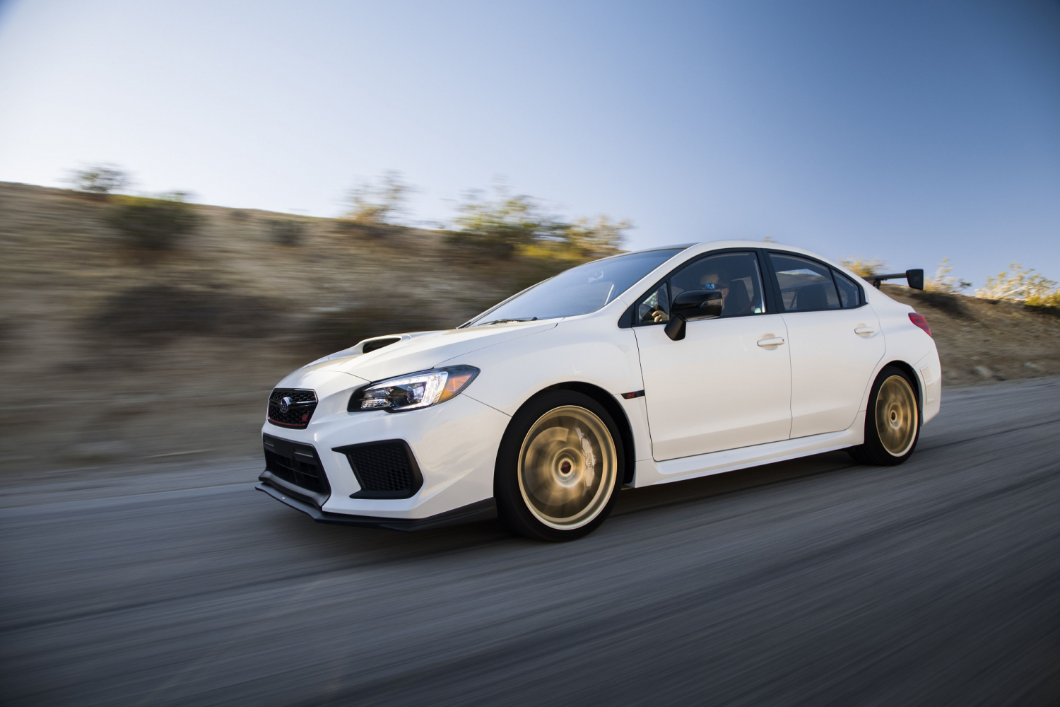 Subaru Wrx Sti Bears Its Golden Wheels On The Nurburgring 19 Inch Prevnext