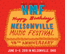 Weekend Passes to 2019 Nelsonville Music Festival
