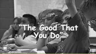 The Good That You Do / Reading Writing 'n' Relevance