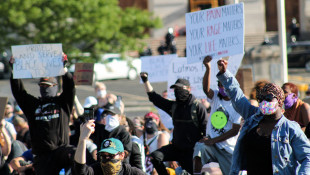 Protests Against Police Violence Erupt In Indiana
