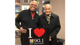 Rev. Marvin Chandler and Everett Greene