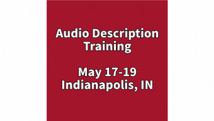 Audio Description Training