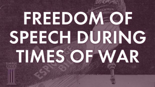 Freedom of Speech During Times of War