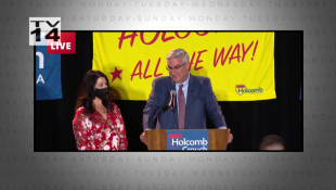 Holcomb Wins Re-election - November 6, 2020