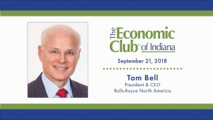 September 2018 - Tom Bell, President & CEO of Rolls-Royce North America