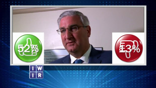 Governor Eric Holcomb's Approval Rating - November 16, 2018