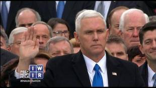 Pence and Trump Take Their Oaths - January 20, 2017