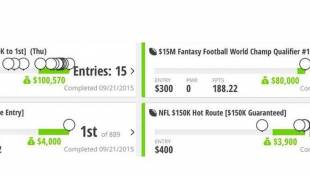 Daily Fantasy Sports - February 8, 2015