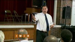 Senator Joe Donnelly Visits Indianapolis - May 30, 2014
