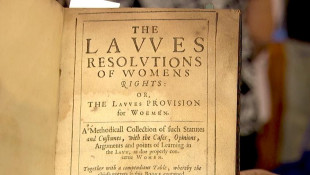 Appraisal: 1632 Book on Women's Rights